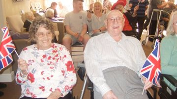 MP visits local care home open day