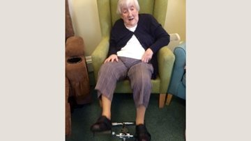 St Andrews care home Residents focus on fitness for 2020