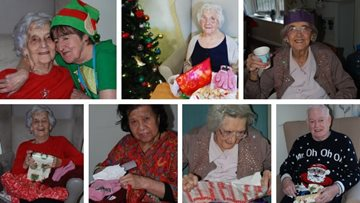 Christmas cheer for all to hear at Georgetown care home