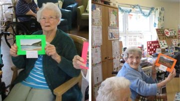Crafty afternoon for Aberpennar Court