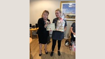 Care staff rewarded at Wombwell Hall