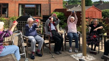 Ladywood Residents enjoy some Healthy Exercise