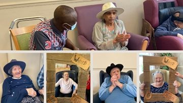 Kings Park nursing home country and western day