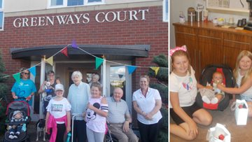 Relatives raise over £300 for Resident's comfort fund