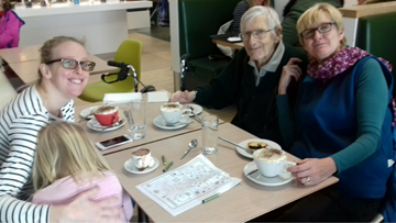 Residents Enjoy Festive Trip To Marks and Spencer