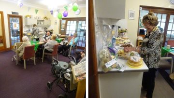 Fundraising success as Grimsby care home hosts MacMillan coffee morning