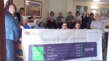 Carlton care home celebrates success in CQC report