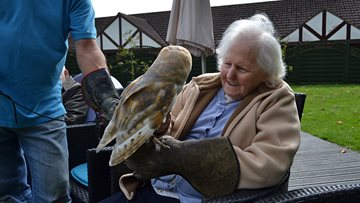 HC-One residents at White Gables Care Home Enjoy a Taste of the Exotic