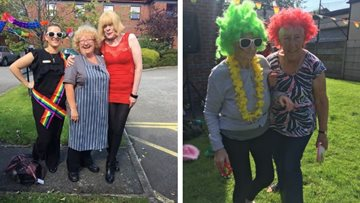 Newton Heath care homes celebrate Pride