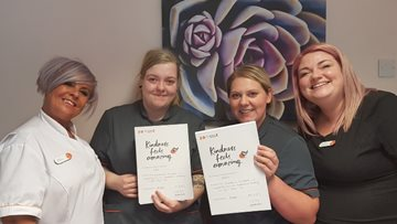 Kind care is celebrated at Sheffield care home
