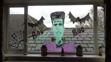 Stanley care home get ready for a spooky Halloween weekend