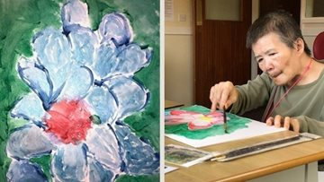 Manchester care home Residents create 2021 calendar in Art Club