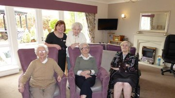Hebburn care home shows appreciation for 'society's angels' for International Nurses Day