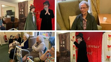 A Christmas Carol is a hit at Pudsey care home