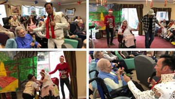 Festive fun at Northfleet care home