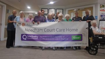 Jarrow care home celebrates success in CQC report