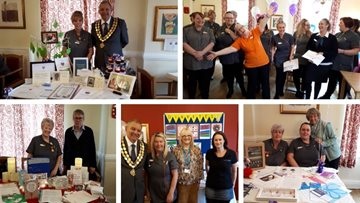 Spennymoor care home champions raise awareness in local community