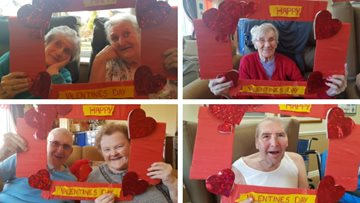 Love is all around at Willow Brook