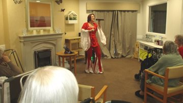 Musical Memories give Residents a show to remember