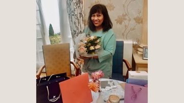 Goodbye to retiring carer of 23 years at Henley-On-Thames home