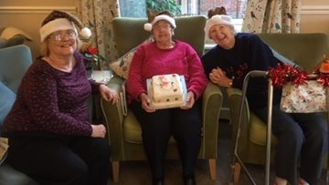 Doncaster care home receives special Christmas gift