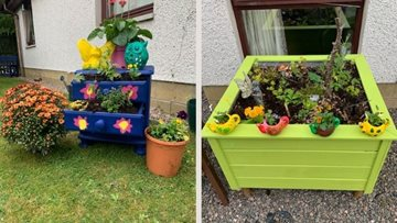 Residents at Cradlehall care home win best pot in HC-One gardening competition