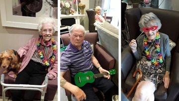 Summer celebrations at Newton Aycliffe care home