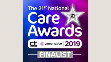 HC-One triumphs as four colleagues shortlisted for National Care Award