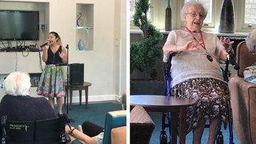 Care Home Open Day celebrations at Stalybridge care home