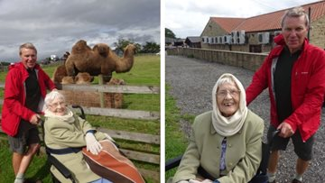 Beaconsfield Court Residents enjoy summertime trip to Mainsgill Farm