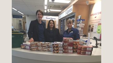 Newton Aycliffe care home receives special donation from Tesco