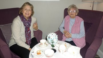 Residents host a fundraiser in aid of Hartlepool United FC