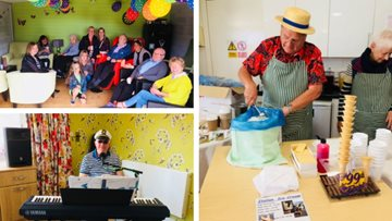 Summer celebrations at Arbroath care home