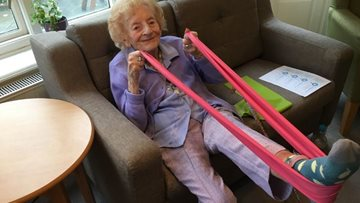 Broadway care home promotes Resident wellbeing with Pilates class