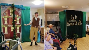 Fee-Fi-Fo-Fum! Pantomime fun for everyone at The Beeches