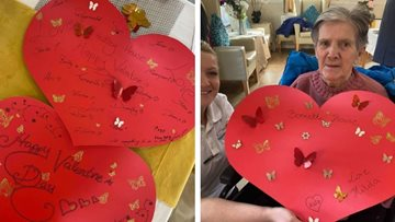 Love is in the air at Capwell Grange