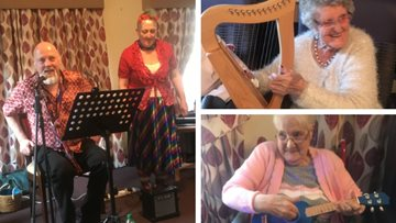 Music therapy at Glenrothes care home