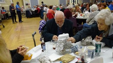 Oldbury care home Residents enjoy evening of entertainment
