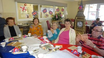Residents reminisce over afternoon tea at Scunthorpe care home