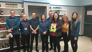 Home Bargains supports Perth care home