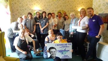 Grimsby care home enjoys sweet surprise from Compass FM