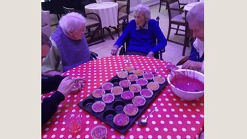 Millbrook Residents put traditional English spin on baking session