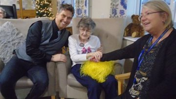 Birthday celebrations at Hartlepool care home