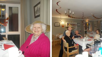 Greenways Court enjoy Chinese New Year feast