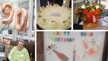 Duffield care home celebrate four birthdays!