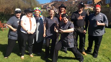 Hat Day is a fundraising success for Silverwood care home