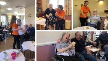 April fools at Essex care home