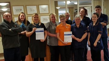 Wishaw care home celebrates success in Care Inspectorate report