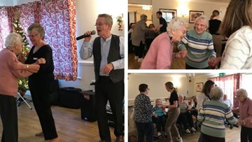 Cherry Willingham care home kicks off 2020 in style with New Year's Eve party