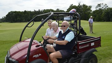 A hole in one! Hayes care home makes Resident's wish comes true
